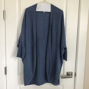 100% CASHMERE open sweater